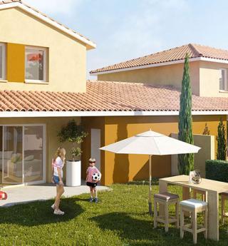 Chalets Accession - résidence Terrasse Garonne à Capens