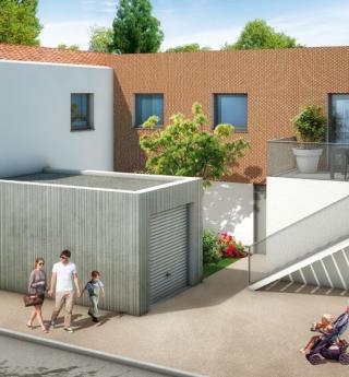 Chalets Accession - maison Cœur Lapujade - Bonnefoy à Toulouse