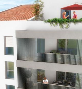Chalets Accession - résidence Les terrasses de Carrozza