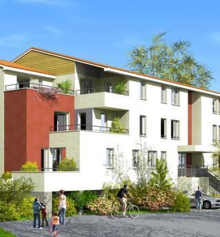 Chalets Accession - appartement Terrasse du Clocher à Gagnac