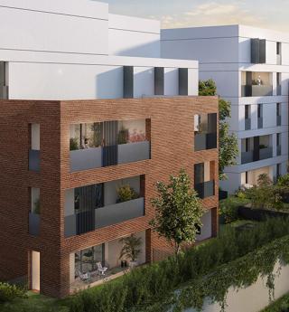 Résidence neuve - appartements Allées de Brienne location-accession Toulouse