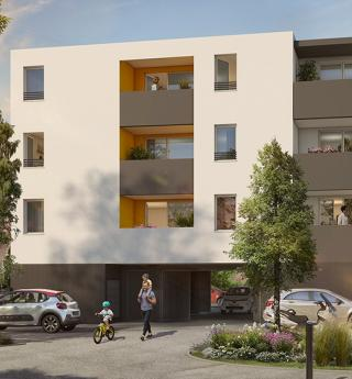 Residence Les Balcons de Mélodie avenue de fronton toulouse perspective
