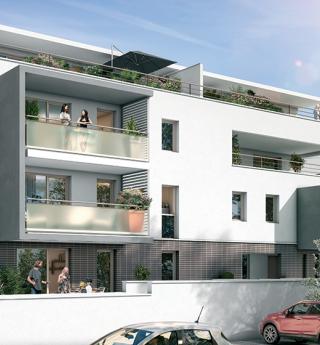 Résidence neuve appartements neufs location-accession Ramonville