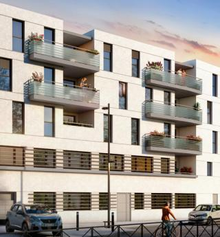 residence eclat rue blanchard toulouse perspective
