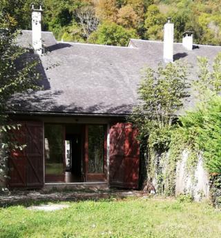 maison heritage saint beat jardin