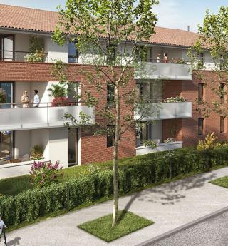 Résidence neuve programme immobilier appartements à Gratentour