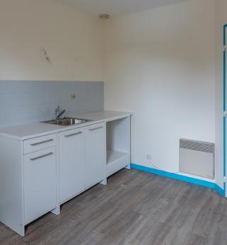 appartement t2 terrasses marquisat tournefeuille cuisine