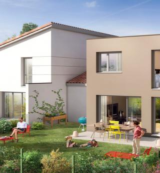 Maisons Jardins d'Emilie Bruguières vue extérieure
