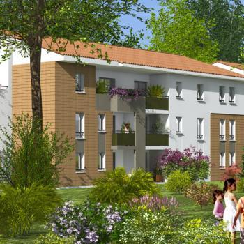 Appartement location accession 2 à 3 pièces Saint Orens Côté Bois