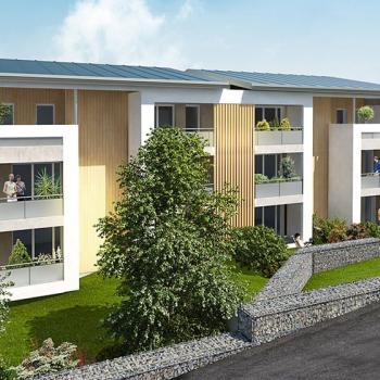 Chalets Accession - résidence Le Pastel à Saint-Orens
