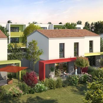 Programme Agate : achat villa neuve toulouse quartier Grand Selve